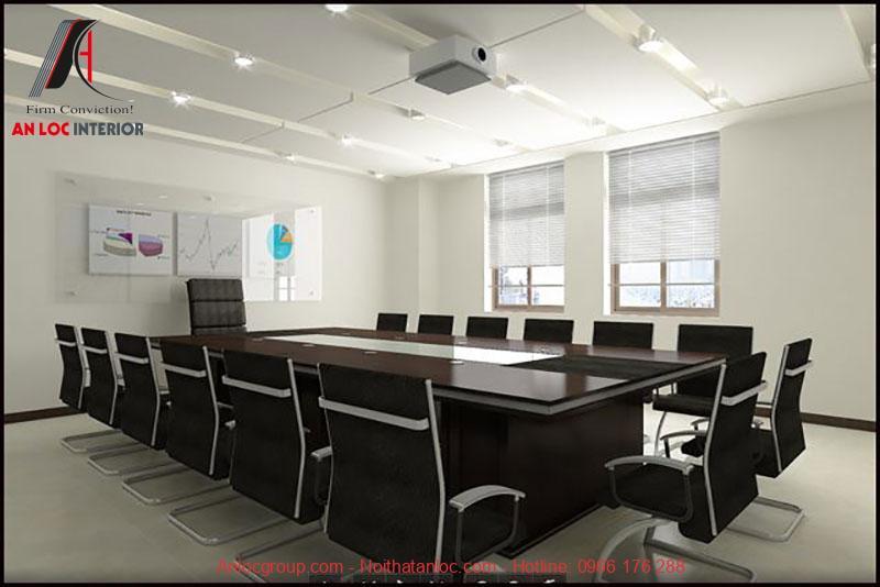 Mẫu thiết kế phòng họp 7