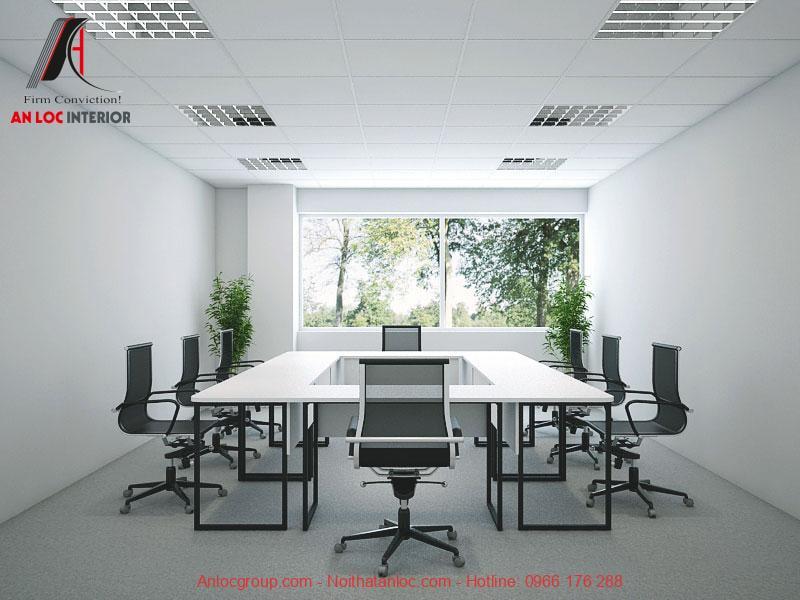 Mẫu thiết kế phòng họp 8