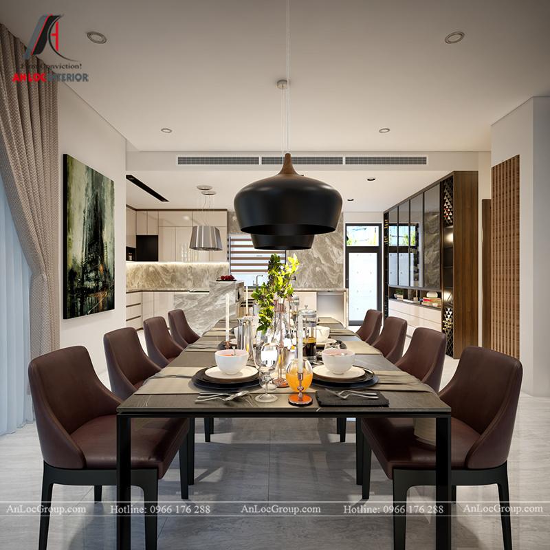 Nội thất nhà biệt thự đẹp tại Khai Sơn Hill Quận Long Biên - Ảnh 11