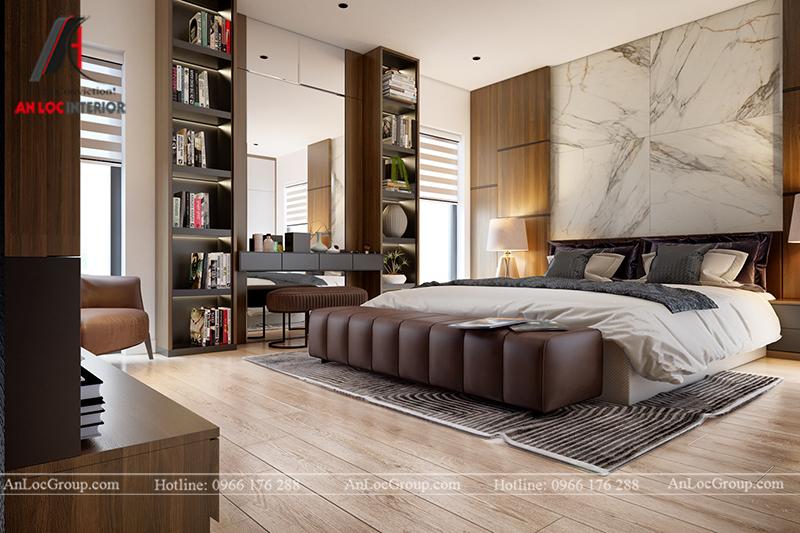 Nội thất nhà biệt thự đẹp tại Khai Sơn Hill Quận Long Biên - Ảnh 17