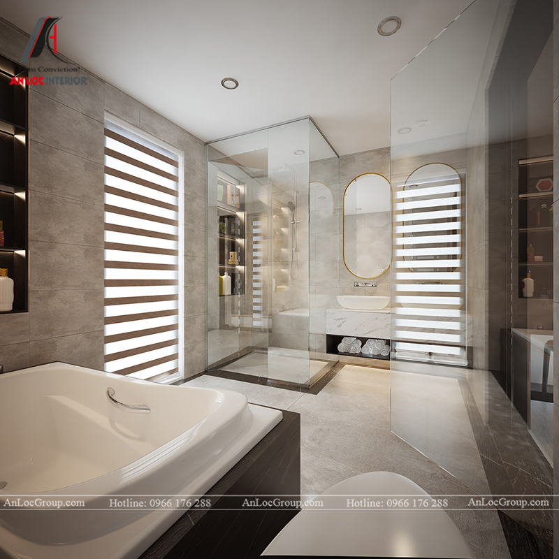 Nội thất nhà biệt thự đẹp tại Khai Sơn Hill Quận Long Biên - Ảnh 18