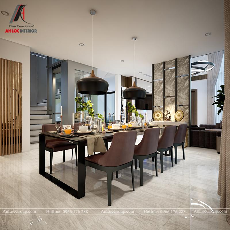 Nội thất nhà biệt thự đẹp tại Khai Sơn Hill Quận Long Biên - Ảnh 9