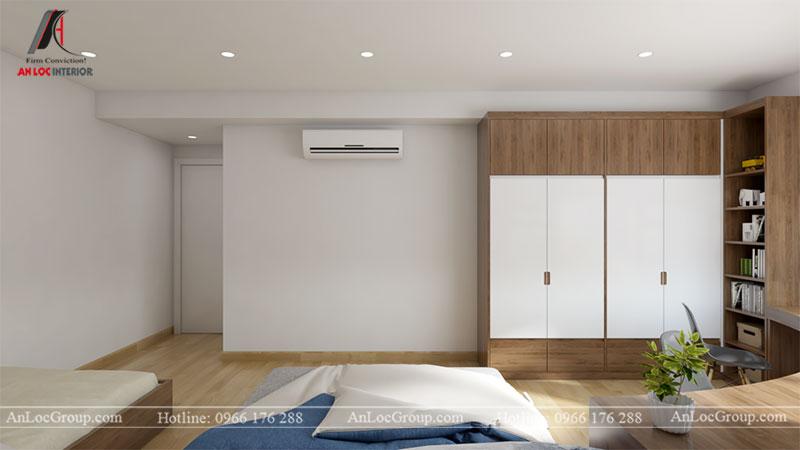 Thiết kế căn hộ 66m2 tại Tòa C Vinaconex 2 - Ảnh 10