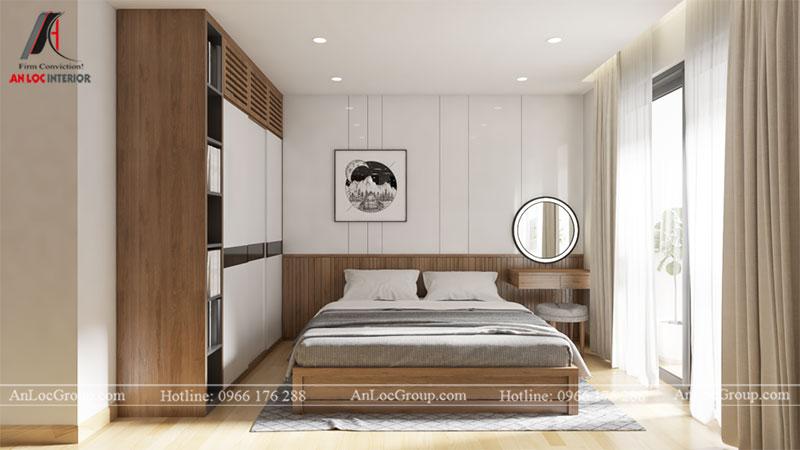 Thiết kế căn hộ 66m2 tại Tòa C Vinaconex 2 - Ảnh 5