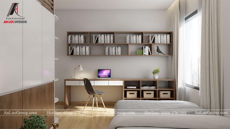 Thiết kế căn hộ 66m2 tại Tòa C Vinaconex 2 - Ảnh 6