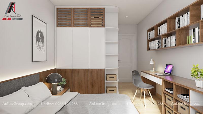 Thiết kế căn hộ 66m2 tại Tòa C Vinaconex 2 - Ảnh 7
