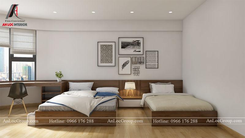 Thiết kế căn hộ 66m2 tại Tòa C Vinaconex 2 - Ảnh 8