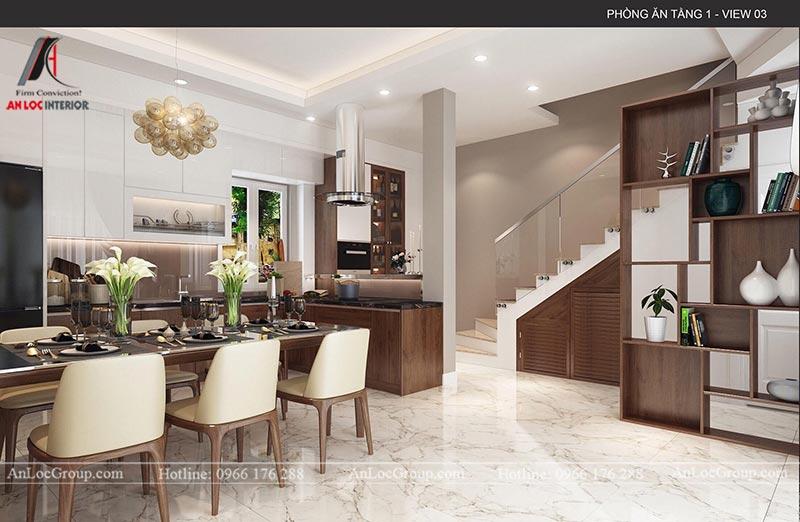 Thiết kế bếp nhà phố nhỏ gọn và đầy đủ tiện nghi