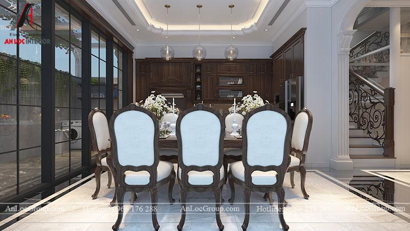 Thiết kế nội thất biệt thự Gamuda Garden phong cách tân cổ điển - Ảnh 11