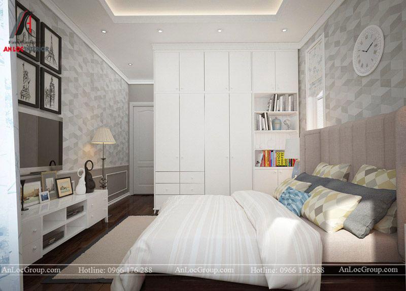 Thiết kế nội thất biệt thự Gamuda Garden phong cách tân cổ điển - Ảnh 14