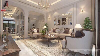 Thiết kế nội thất biệt thự Gamuda Garden phong cách tân cổ điển - Ảnh 4