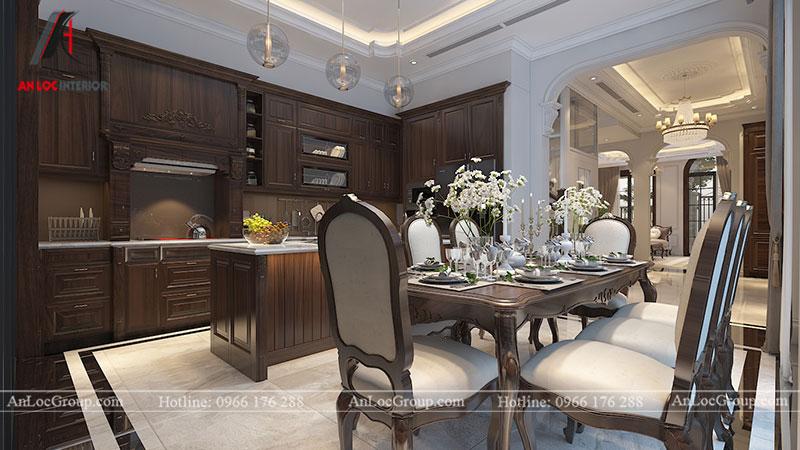 Thiết kế nội thất biệt thự Gamuda Garden phong cách tân cổ điển - Ảnh 9