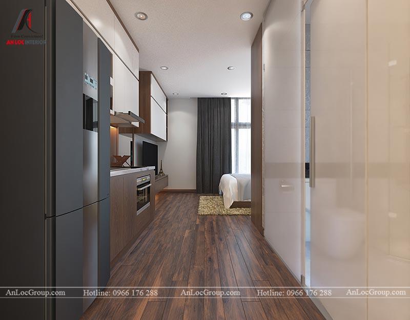 Mẫu thiết kế căn hộ cho thuê