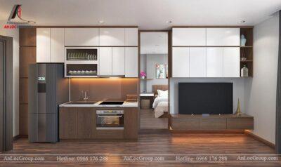 thiết kế căn hộ cho thuê đẹp