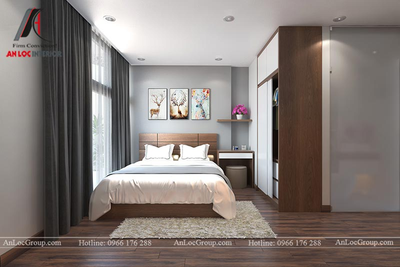 thiết kế căn hộ cho thuê
