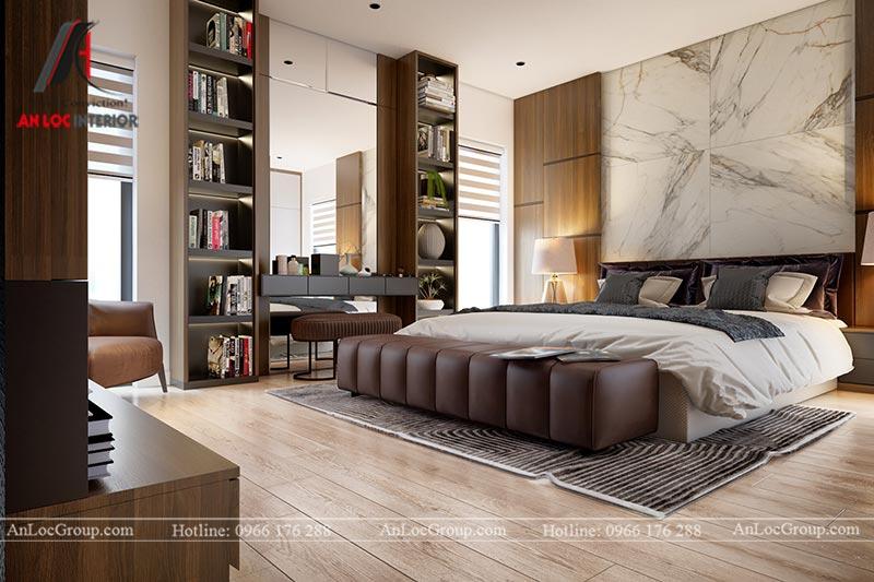 Thiết kế chung cư đẹp 112m2 tại An Bình City - Ảnh 11
