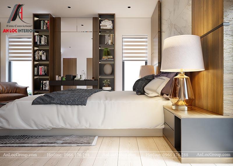 Thiết kế chung cư đẹp 112m2 tại An Bình City - Ảnh 12