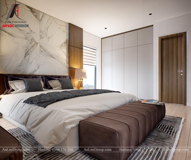 Thiết kế chung cư đẹp 112m2 tại An Bình City - Ảnh 13
