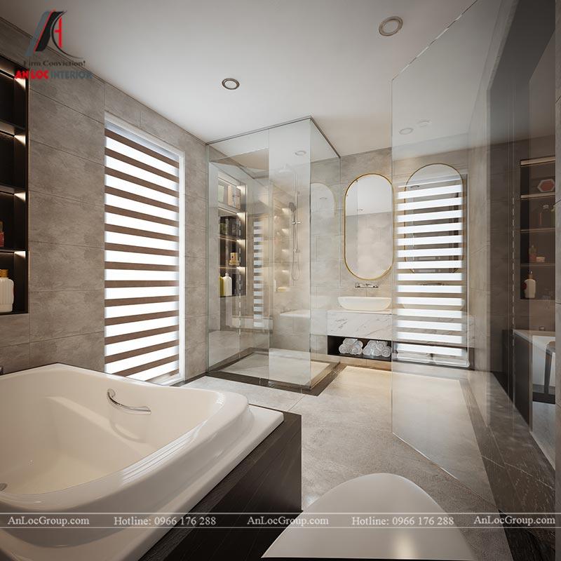 Thiết kế chung cư đẹp 112m2 tại An Bình City - Ảnh 15