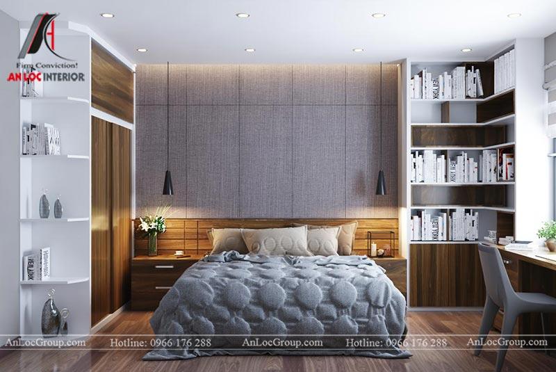 Thiết kế chung cư đẹp 112m2 tại An Bình City - Ảnh 16