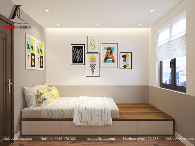 Thiết kế chung cư đẹp 112m2 tại An Bình City - Ảnh 18