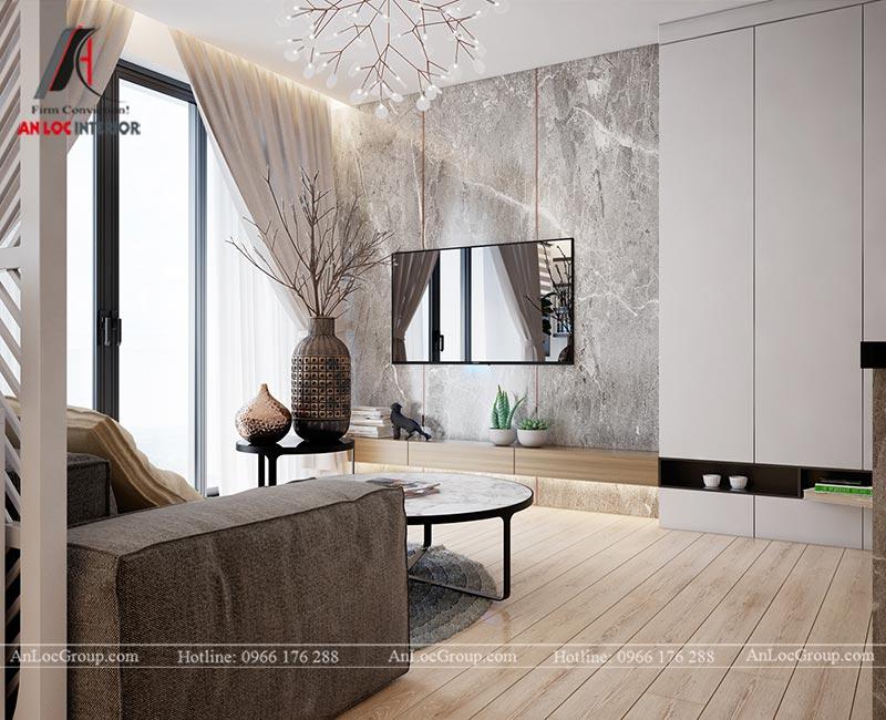 Thiết kế chung cư đẹp 112m2 tại An Bình City - Ảnh 2