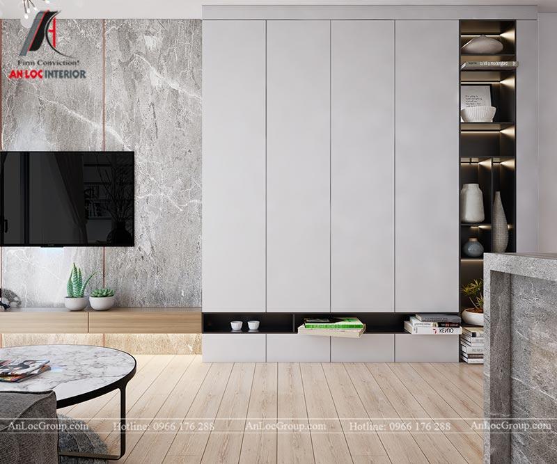 Thiết kế chung cư đẹp 112m2 tại An Bình City - Ảnh 3