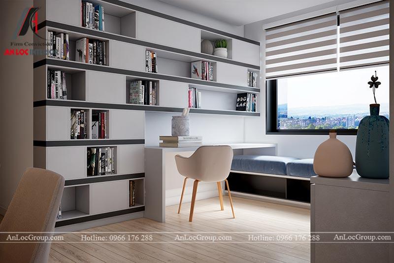 Thiết kế chung cư đẹp 112m2 tại An Bình City - Ảnh 7
