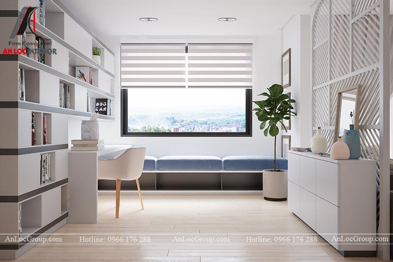 Thiết kế chung cư đẹp 112m2 tại An Bình City - Ảnh 8