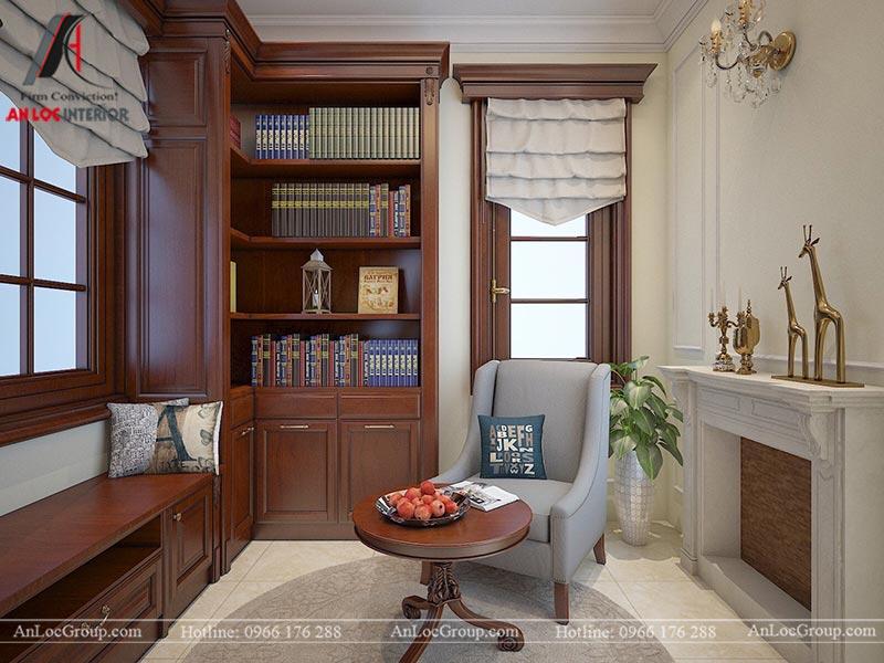 Thiết kế nội thất biệt thự An Vượng Villas phong cách tân cổ điển - Ảnh 10