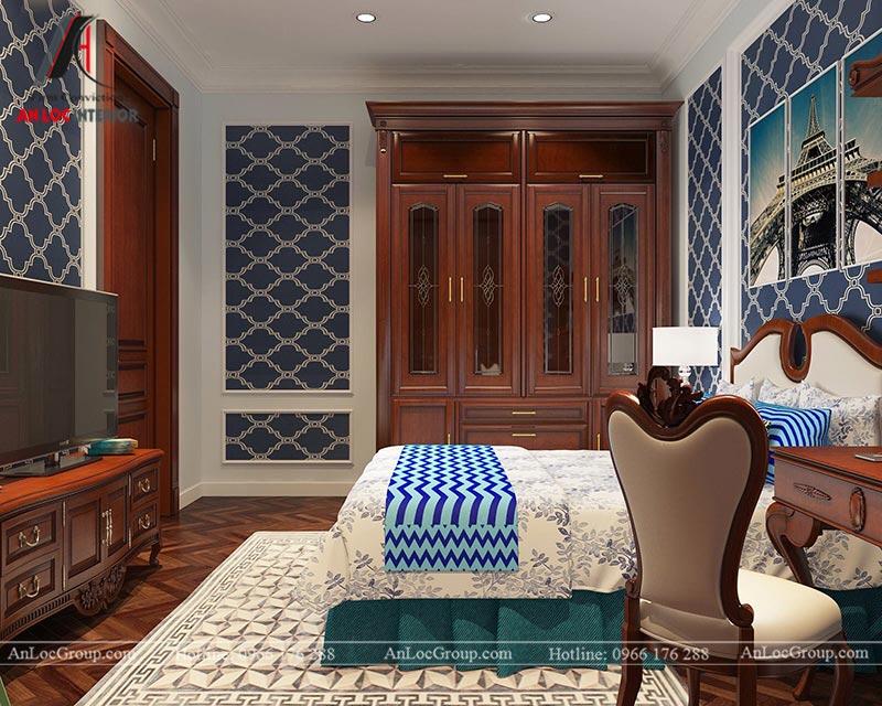 Thiết kế nội thất biệt thự An Vượng Villas phong cách tân cổ điển - Ảnh 11