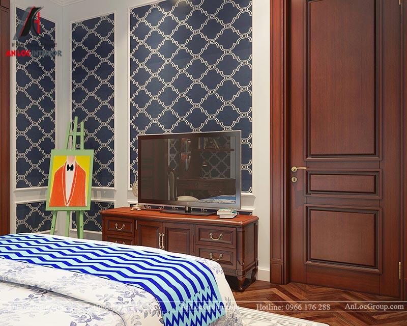 Thiết kế nội thất biệt thự An Vượng Villas phong cách tân cổ điển - Ảnh 12