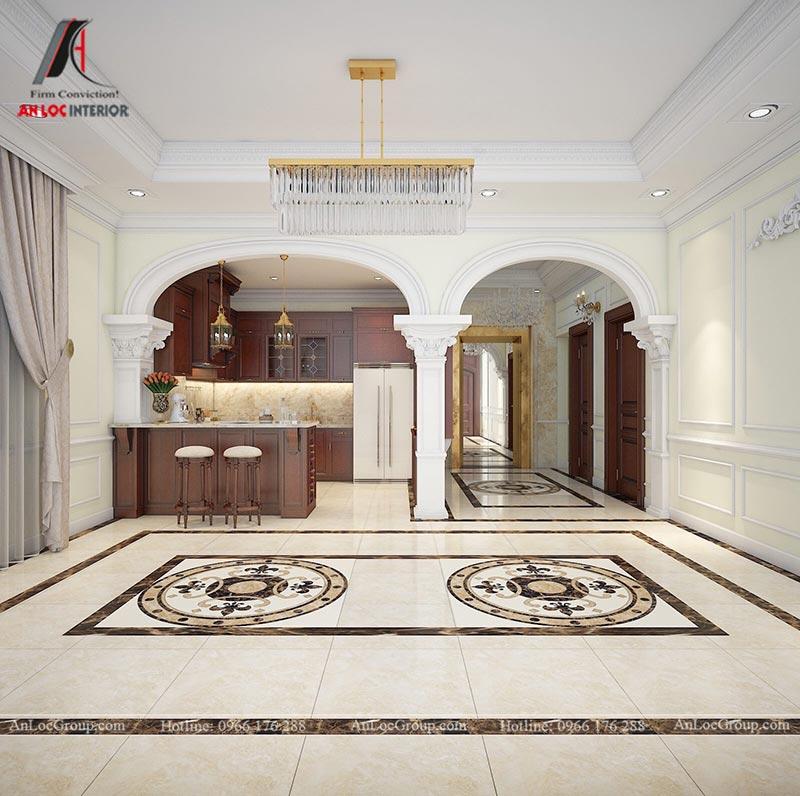 Thiết kế nội thất biệt thự An Vượng Villas phong cách tân cổ điển - Ảnh 6