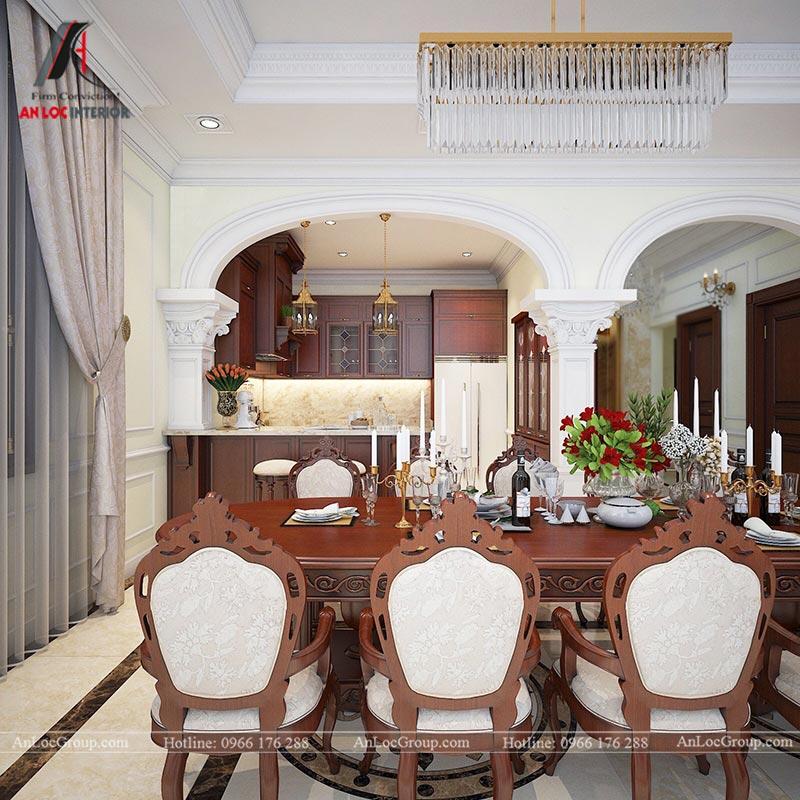 Thiết kế nội thất biệt thự An Vượng Villas phong cách tân cổ điển - Ảnh 8