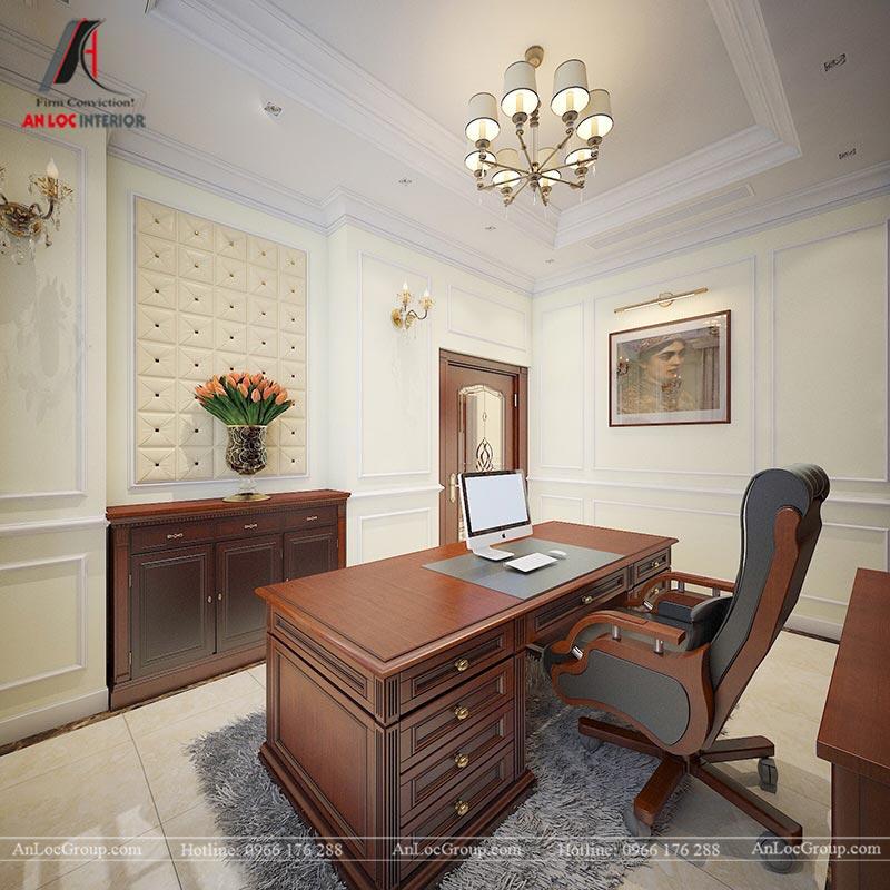 Thiết kế nội thất biệt thự An Vượng Villas phong cách tân cổ điển - Ảnh 9