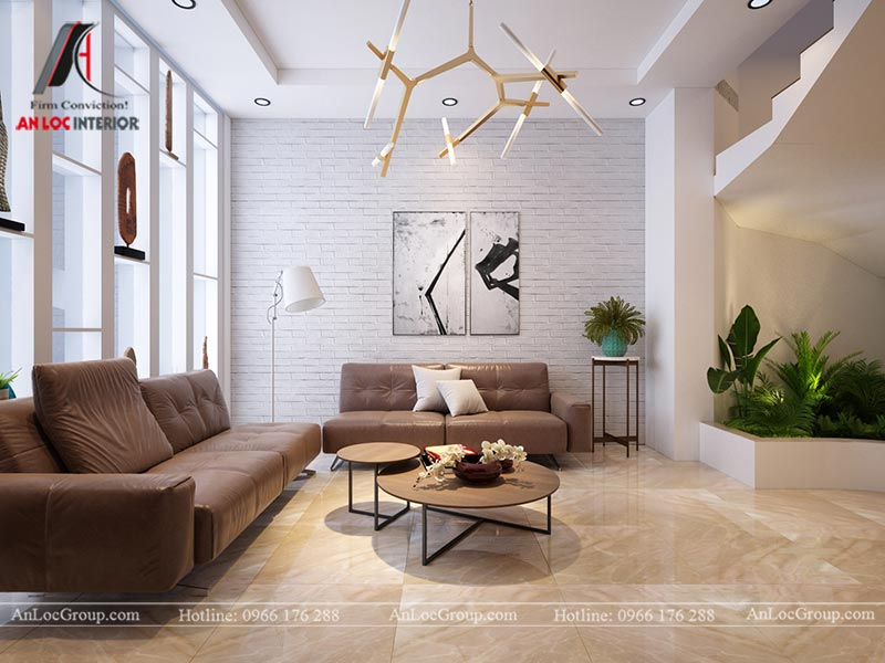Thiết kế nội thất nhà phố đẹp tại Ba Vì, Hà Nội - Ảnh 1