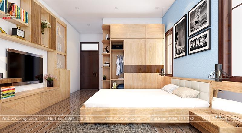 Thiết kế nội thất nhà phố đẹp tại Ba Vì, Hà Nội - Ảnh 10