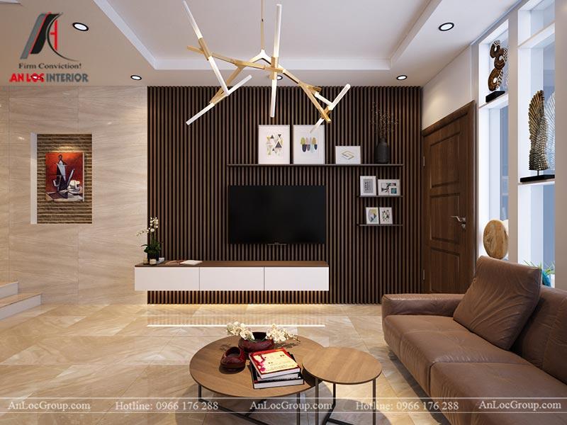 Thiết kế nội thất nhà phố đẹp tại Ba Vì, Hà Nội - Ảnh 2