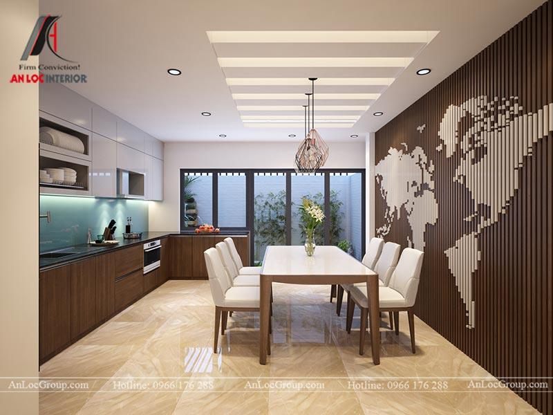 Thiết kế nội thất nhà phố đẹp tại Ba Vì, Hà Nội - Ảnh 4