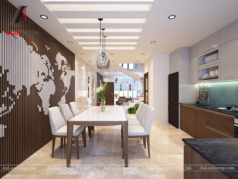 Thiết kế nội thất nhà phố đẹp tại Ba Vì, Hà Nội - Ảnh 5