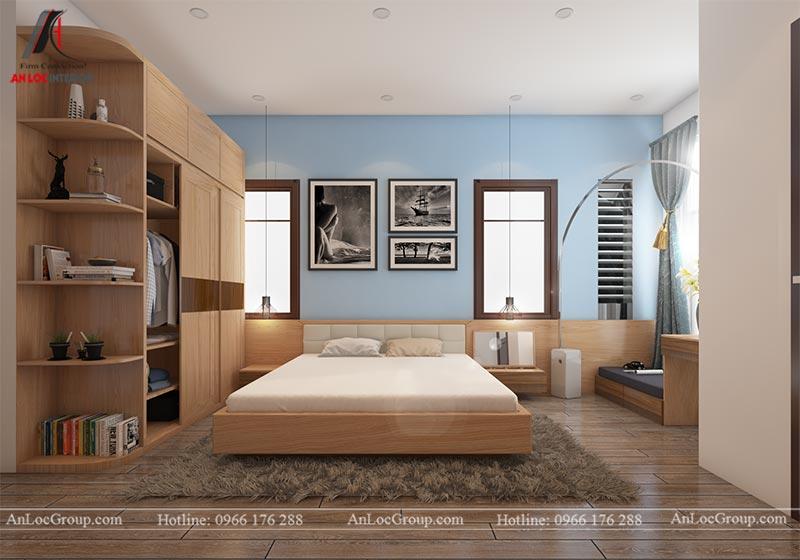 Thiết kế nội thất nhà phố đẹp tại Ba Vì, Hà Nội - Ảnh 7