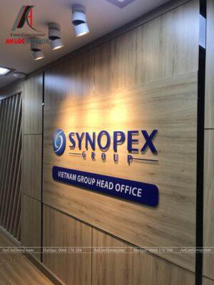 Thi công nội thất văn phòng Synopex - Ảnh 1