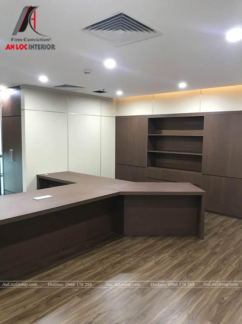 Thi công nội thất văn phòng Synopex - Ảnh 10