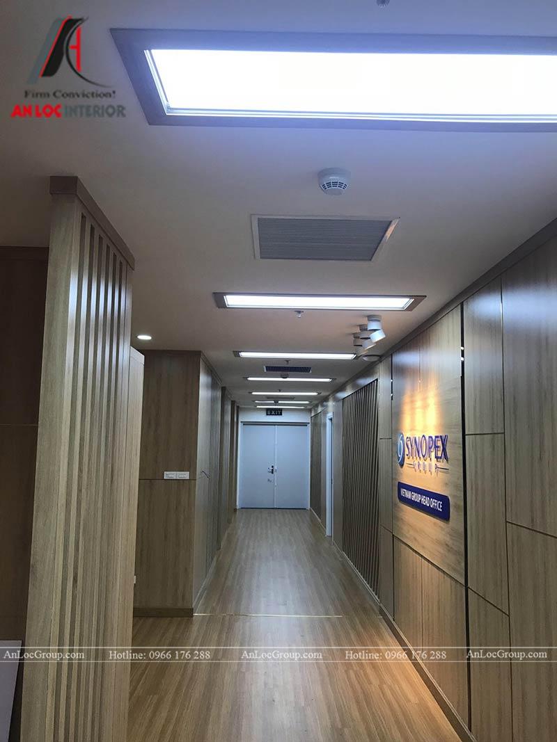 Thi công nội thất văn phòng Synopex - Ảnh 2