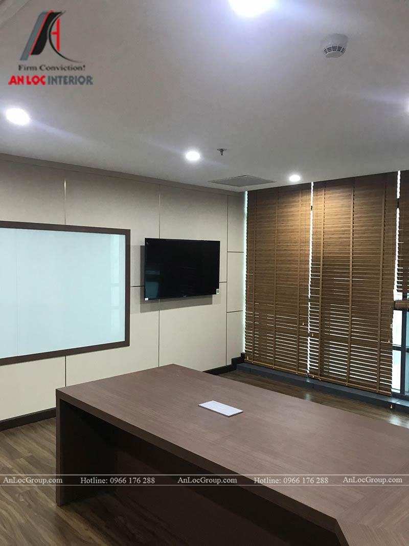 Thi công nội thất văn phòng Synopex - Ảnh 9