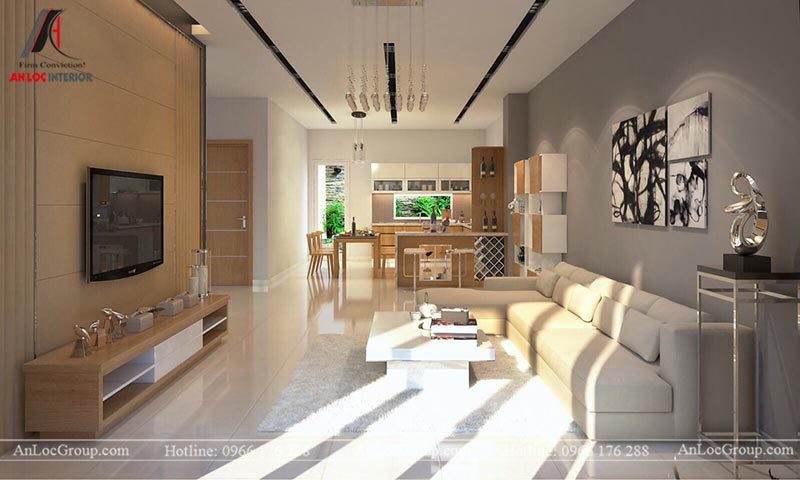 Hình ảnh nội thất nhà phố tại Bắc Giang - Ảnh 1
