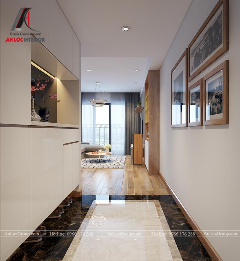 Nội thất chung cư 86m2 tại Vinata Tower - Ảnh 1