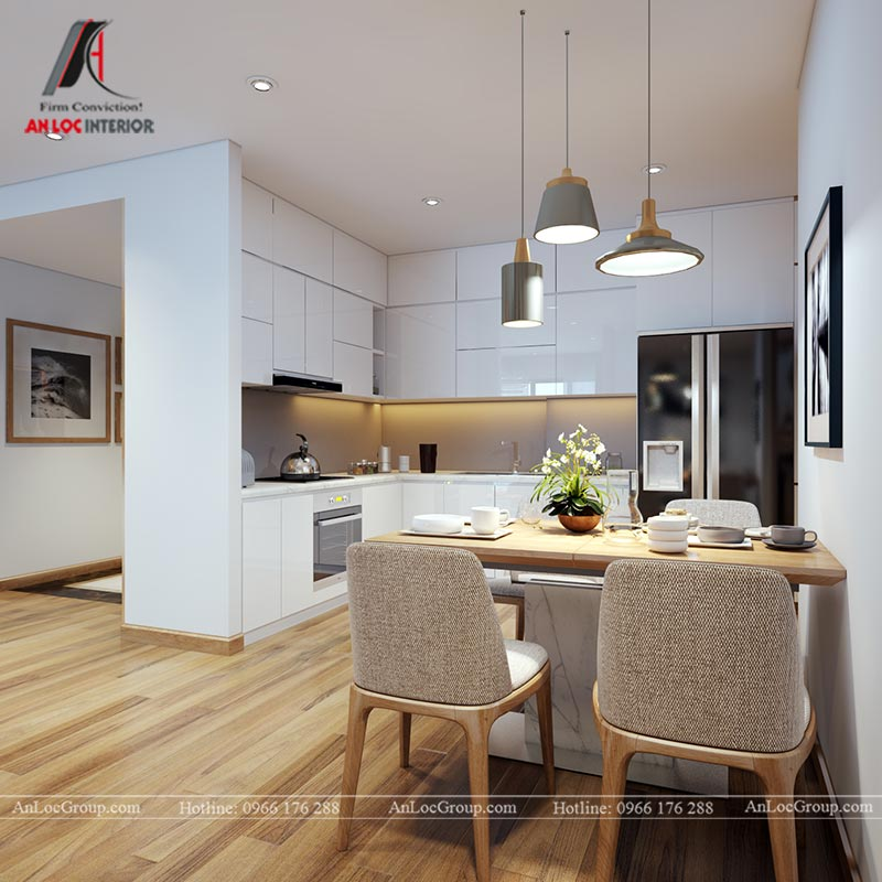 Nội thất chung cư 86m2 tại Vinata Tower - Ảnh 11