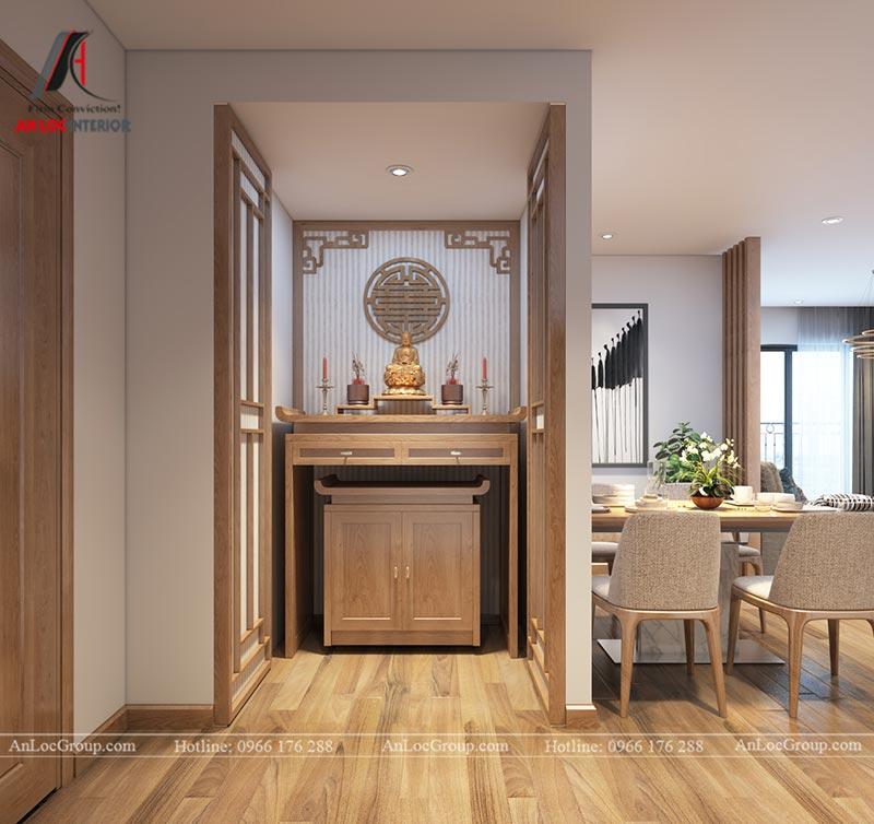 Nội thất chung cư 86m2 tại Vinata Tower - Ảnh 14