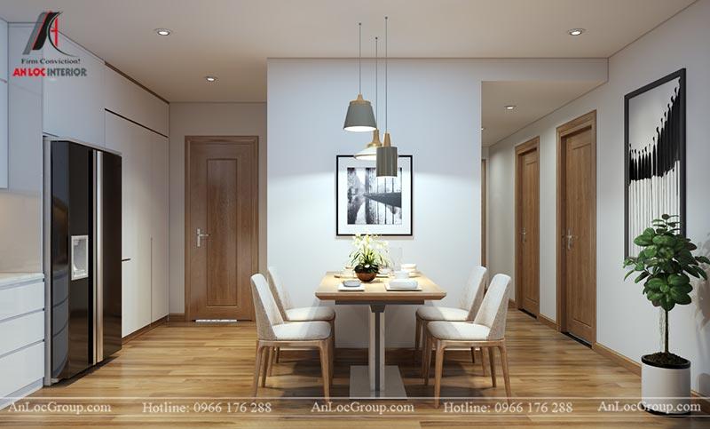 Nội thất chung cư 86m2 tại Vinata Tower - Ảnh 16